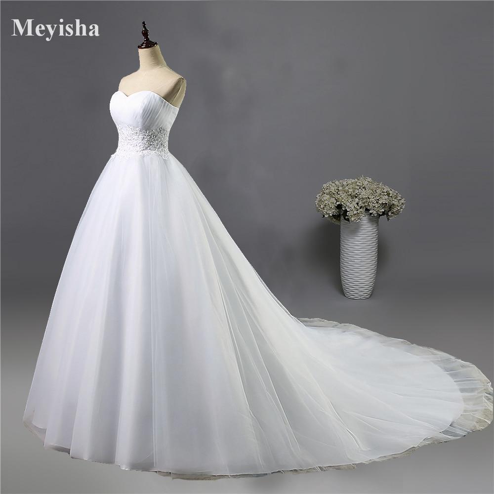 ZJ9008 Obleka s belim slojem brez naramnic z bisernimi kroglicami Poročne obleke 2016 Poročne obleke plus velikost 2 4 6 8 10 12 14 16 18 20 22 24 26