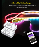 DC12 24V ZIGBEE RGB+CCT Led Controller ZLL smart phone APP Amazon alexa voice control RGBW RGB Brightness adjustment LED Dimmer