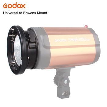 Godox Universal Mount To Bowens Mounts Ring Adapter Studio Flash Strobe 120W 250W 300W K-150A 250SDI 300DI Lamp image
