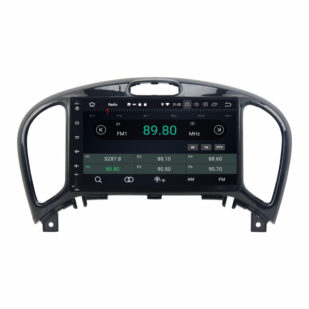 Android 8.0 Octa Core 8 Car Radio DVD GPS for Nissan Juke 2004-2016 With 4GB RAM Bluetooth 4G WIFI USB Mirror-link IPS Screen