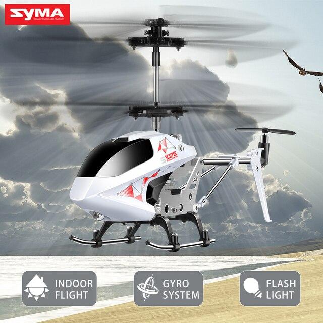 SYMA S107E 3CH 2.4 GHz Intérieur RC Hélicoptère Alliage Forte Anti ...