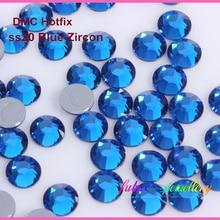 1440 шт./лот, ss20(4,8-5,0 мм) Высокое качество DMC Капри Синие стразы/стразы горячей фиксации