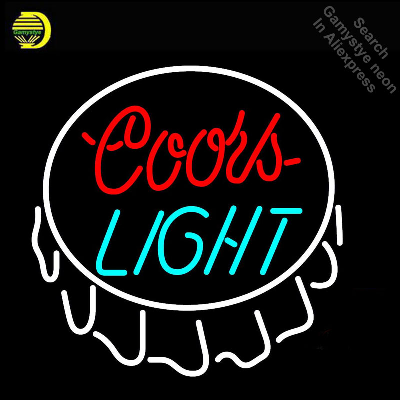 Coors light Neon Light Sign Neon Bulbs sign Handcraft Beer Bar Pub Signs lampara neon personalized Lamp light wall AdvertisementCoors light Neon Light Sign Neon Bulbs sign Handcraft Beer Bar Pub Signs lampara neon personalized Lamp light wall Advertisement