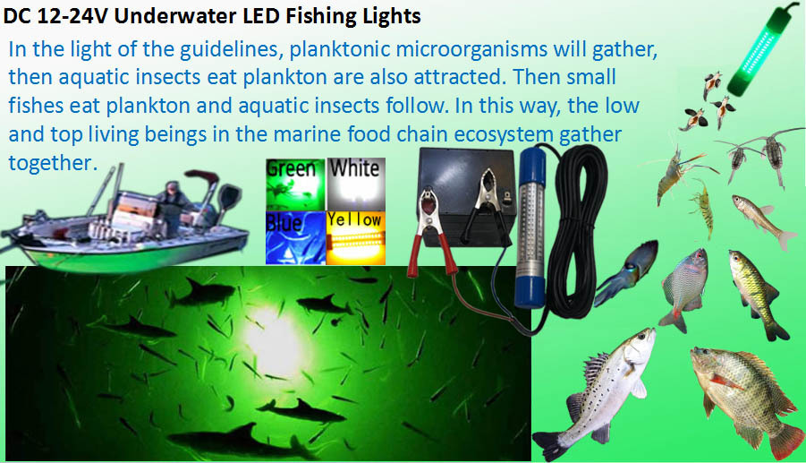 fishing led light baits