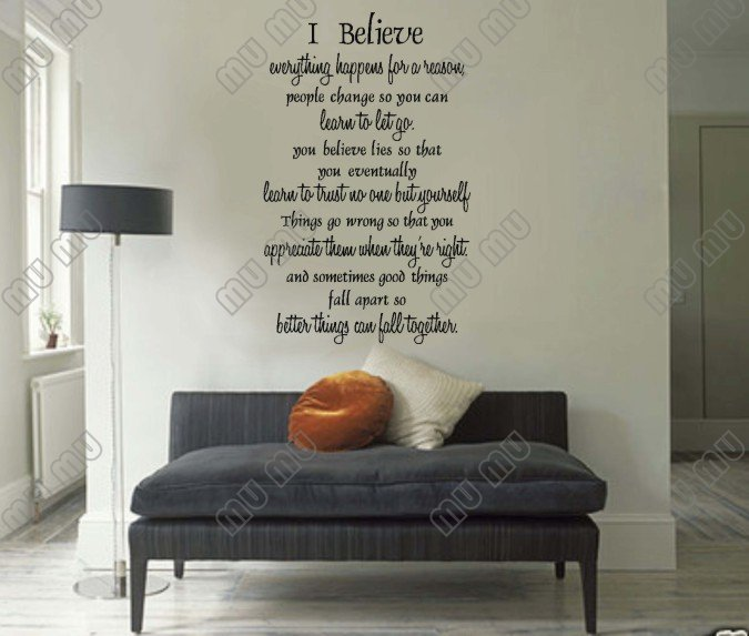 Bedroom Wall Art Aliexpress Com Marilyn Monroe Quote I Believe Everything