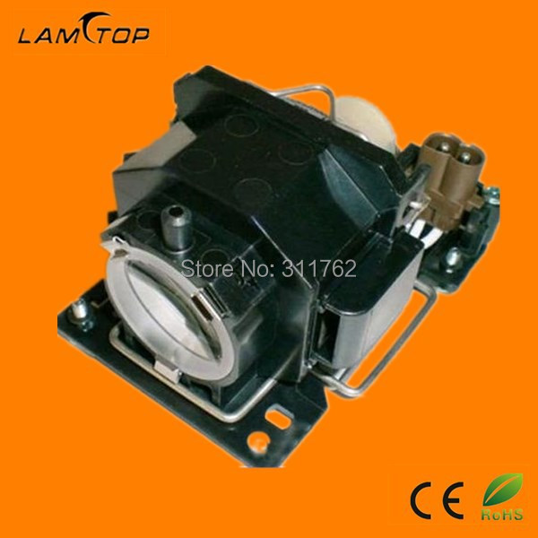 Lamtop compatible projector bulb with housing  DT00821 for   HCP-610X HCP-78XW dt00821 oiginal projector bulb with housing for hitachi hcp 600x hcp 610x hcp 78xw projectors