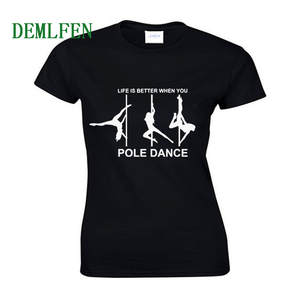 34d604547d demlfen Summer Women Cotton T-shirt T Shirt Tops Tees