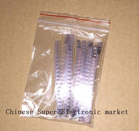 300 шт. LL34 0,5 Вт 1/2 Вт 2 В-27 В стабилитрон комплект 15 значения 1206 стабилитрон SMD диод каждый 20 штук