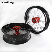 3.50x17 inch 4.25x17 inch Spoked Motorcycle Wheels Rims Set For KTM EXC EXC E SX SX F XCW 150 200 250 300 350 450 2003 2018