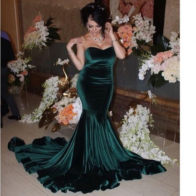 Popular Hunter Green Prom Dress-Buy Cheap Hunter Green Prom Dress ...