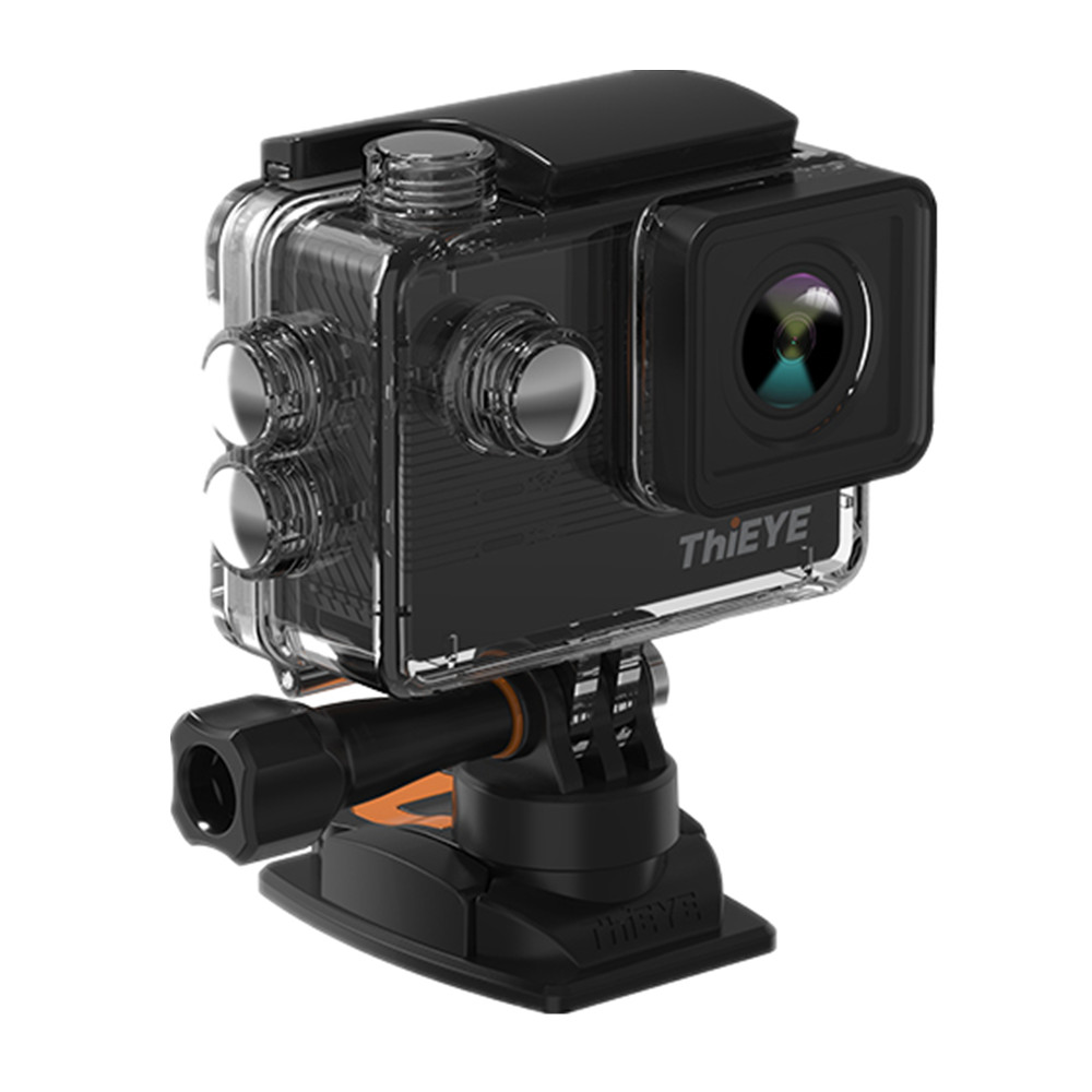 ThiEYE E7 ICatch V50 Real 4k 30fps Action Camera Wifi EIS 2.0'' Waterproof Diving Go Sports Pro Action Cam Voice&remote control 2017 arrival original eken action camera h9 h9r 4k sport camera with remote hd wifi 1080p 30fps go waterproof pro actoin cam