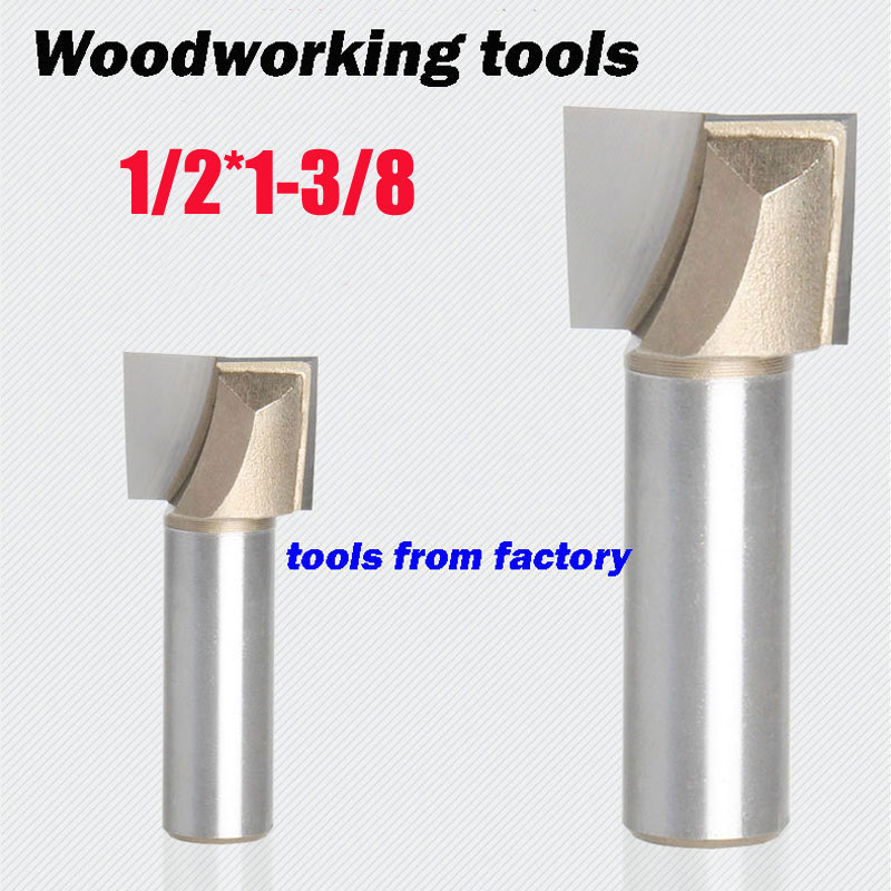 1pc wooden router bits 1/2*1-3/8 CNC woodworking milling cutter woodwork carving tool 1pc wooden router bits 1 2 5 8 cnc woodworking milling cutter woodwork carving tool