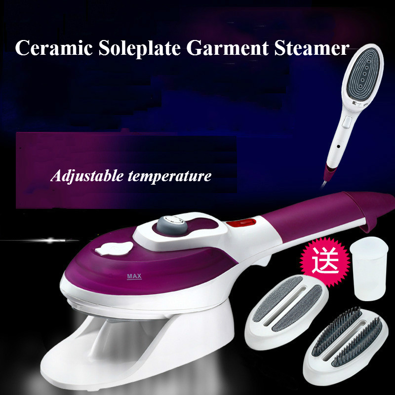 Handheld Garment Steamer Portable Steam Iron Machine for Clothes Home Steam Brush Ceramic Soleplate Electric Iron Steamer polaris phd 2077i