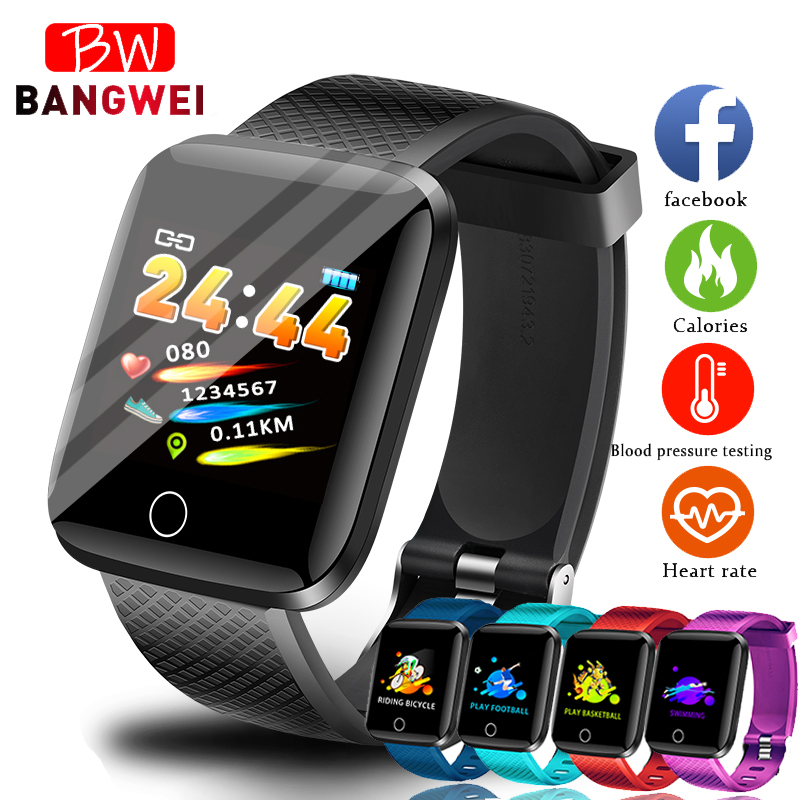 BANGWEI 2019 New Smart Watch Men Blood Pressure Heart Rate Monitor Fitness tracker Multifunction Sport watch Smart Wristband+BoxBANGWEI 2019 New Smart Watch Men Blood Pressure Heart Rate Monitor Fitness tracker Multifunction Sport watch Smart Wristband+Box