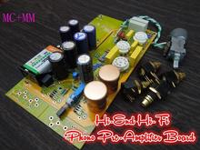 2016 Douk Audio HiFi MM+MC Phono Pre-Amplifier LP Vinyl Tube Phono Stage Preamp Board