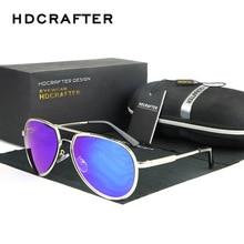 Fashion Luxury Brand  Sunglasses Men New Retro Oversized Sun Glasses for Man Oculos UV400 Eyewear HDCRAFTER 2017 5 Colors