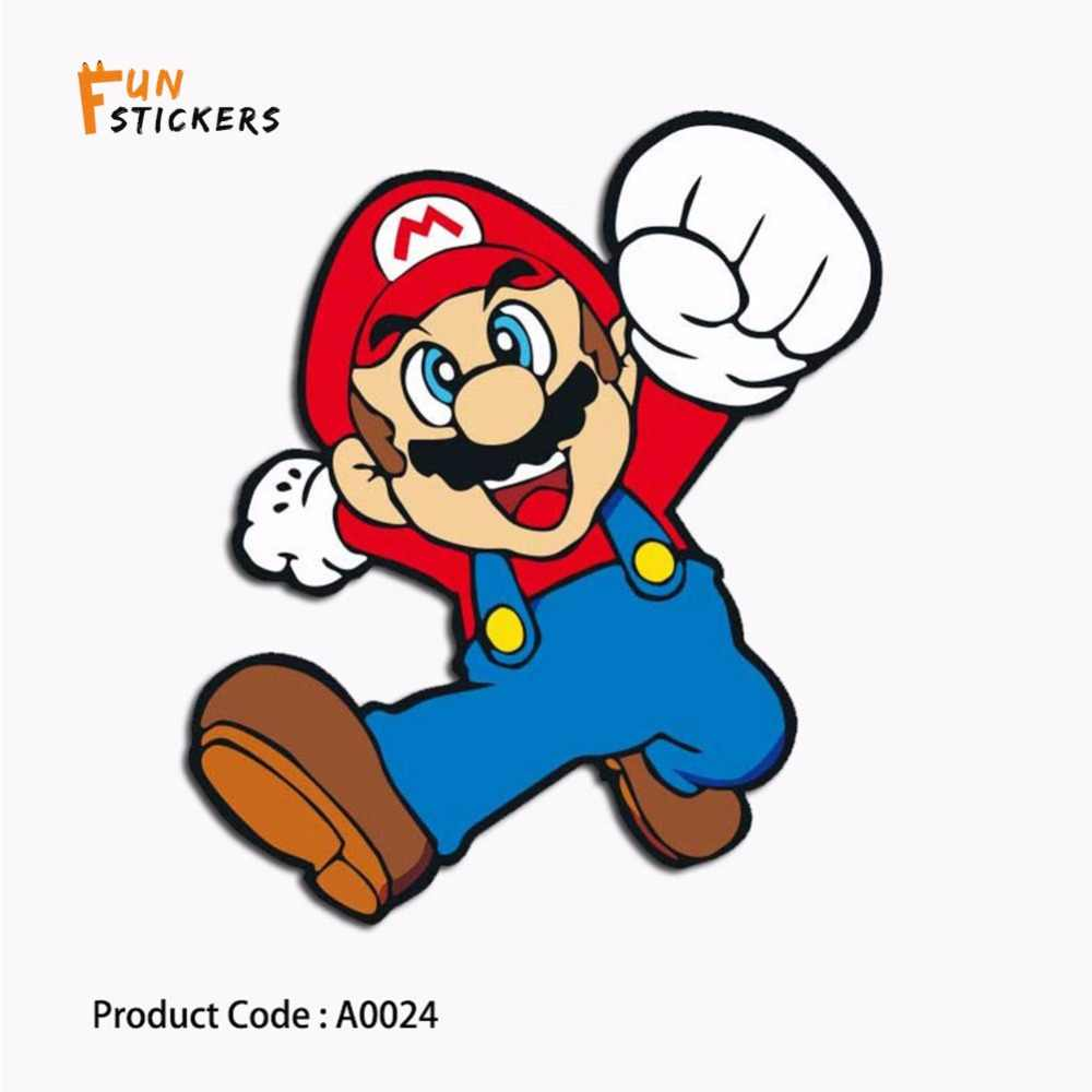 ... Mario Skate Anime Game Character Cartoon Waterproof Sticker Toy Laptop  Mobile Phone Skateboard Guitar Luggage Sticker ... 5493c7ed563