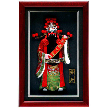 Decoration Arts crafts girl gifts get married Five God Chinese features crafts pendant wall decoration PR business abroad to sen
