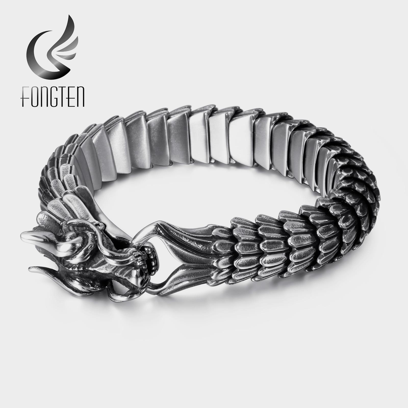 """23cm Skull Ghost Link Stainless Steel Chain Bracelet MENS 9/"""""""