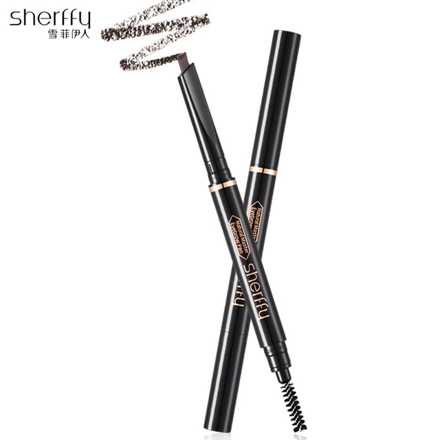 Waterproof Eye Brow Double End Brush For Eyebrow Brand Makeup Pencil  Cosmetic Pen For Eyebrow Brow Tint Eyebrown 3 Style Choose
