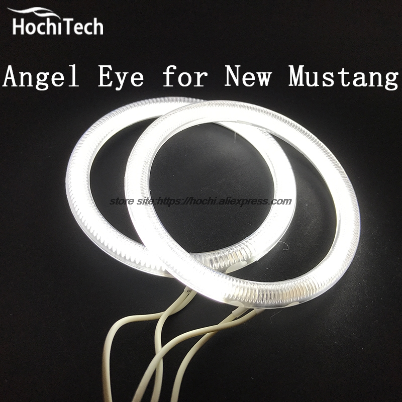 HochiTech Excellent CCFL Angel Eyes Kit Ultra bright headlight illumination for mustang 2015 2016 2017 for honda odyssey 4th g rb3 rb4 chassis 2008 present excellent ultrabright headlight illumination ccfl angel eyes kit halo ring