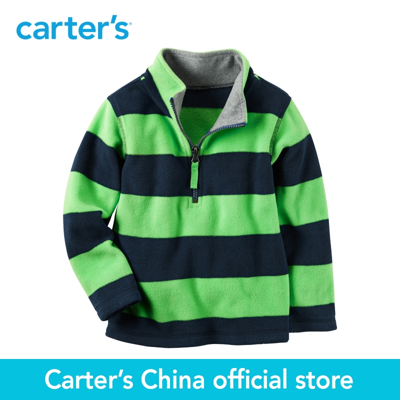 Carter's 1pcs baby children kids Half-Zip Heavyweight Fleece Pullover 225G952,sold by Carter's China official store