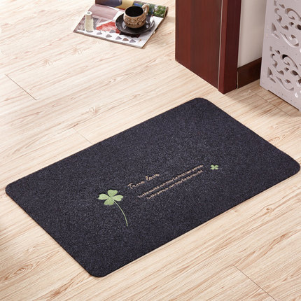 Anti-Slip Floor Mat Waterproof Embroidered PVC Solid Carpets Bedroom Rugs Decorative Stair Mats Home Decor Crafts Area Rug