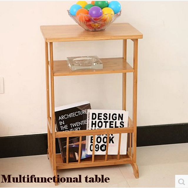 Tea table, multi functional magazine rack, bedside cabinets, wood ...
