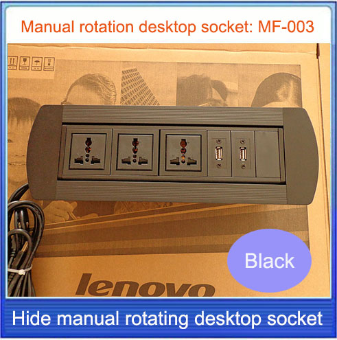 Desktop socket / hidden /manual rotation / multimedia socket  USB desktop socket /Can choose function module/MF-003 High-quality