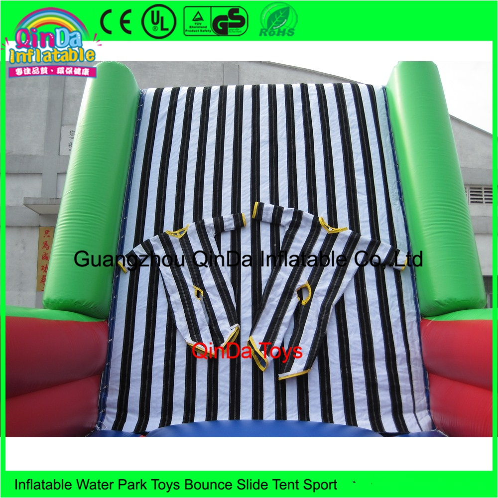 Wholesale Price Commercial Outdoor Games Inflatable Sticky Wall For Party commercial sea inflatable blue water slide with pool and arch for kids