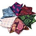 2016 Brand Men Handkerchief Square Into Male Suit Pocket Towel 23cm pocket square cotton handkerchief toalha mens pocket square