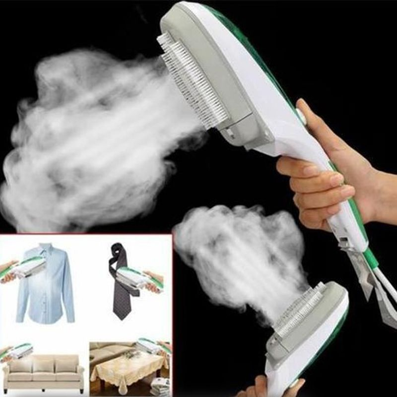 1PCS Hand-held Hanging Machine Mini Portable Steam Brush Fabric Laundry Cloth Wrinkle Brush Steamer Electric Steam Iron Steamer