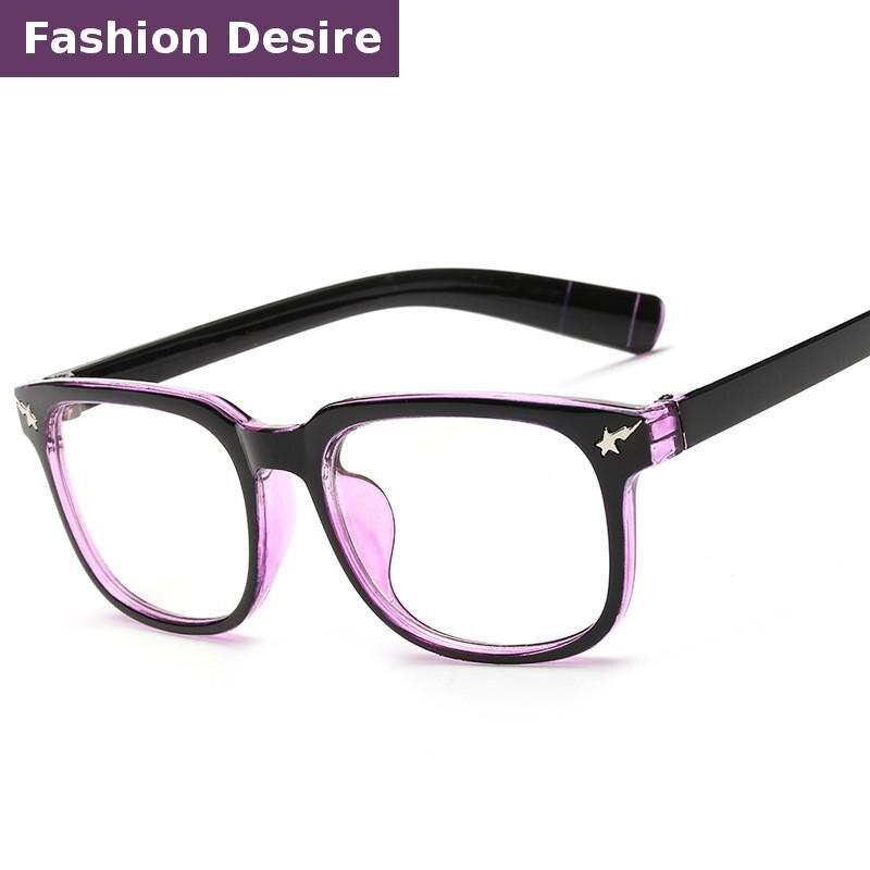 54a440e28eab2 2016 Chegada Nova Unisex Armação de Óculos Óculos Oculos de Grau Feminino  Dos Homens Das Mulheres Da Forma Do Vintage óculos Claros yjk002 em de no  ...