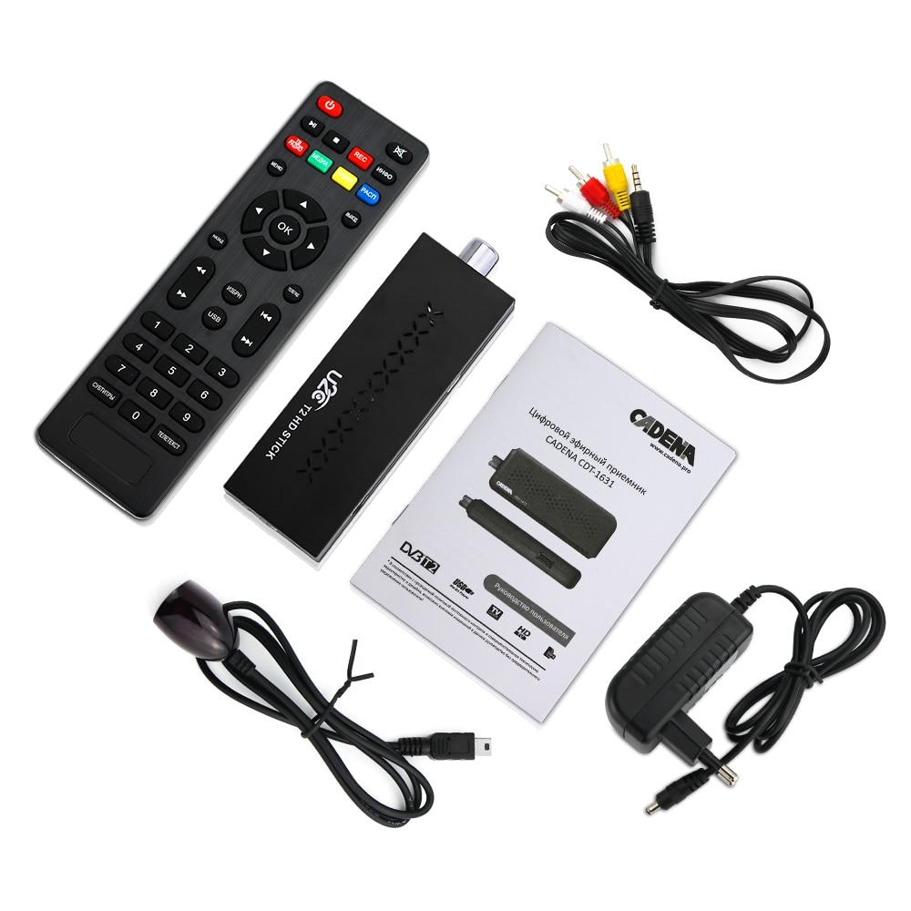 Мини DVBT2 ТВ приемник DVB-T2 ТВ палка Поддержка MP3 MPEG4 формат ТВ коробка Digh передаёт цифровые умные устройства для Tv бесплатная на русском языке
