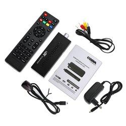 مصغرة DVBT2 مستقبل التلفاز DVB-T2 جهاز استقبال للتليفزيون دعم MP3 MPEG4 تنسيق التلفزيون مربع Digh الوضوح الرقمية الذكية التلفزيون أجهزة الشحن ل الروسية