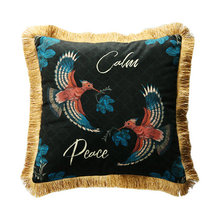 Home Decorative Sofa Throw Pillows American pillow velvet sofa bed cushion cushion set European luxury ins car velvet pillowcase цены