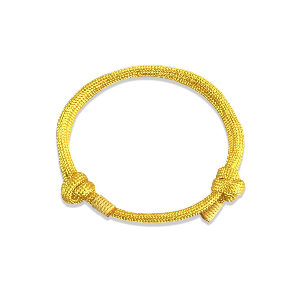 Bracelet homme femme ancre marine OR Hope cordon nautique paracorde anchor gold