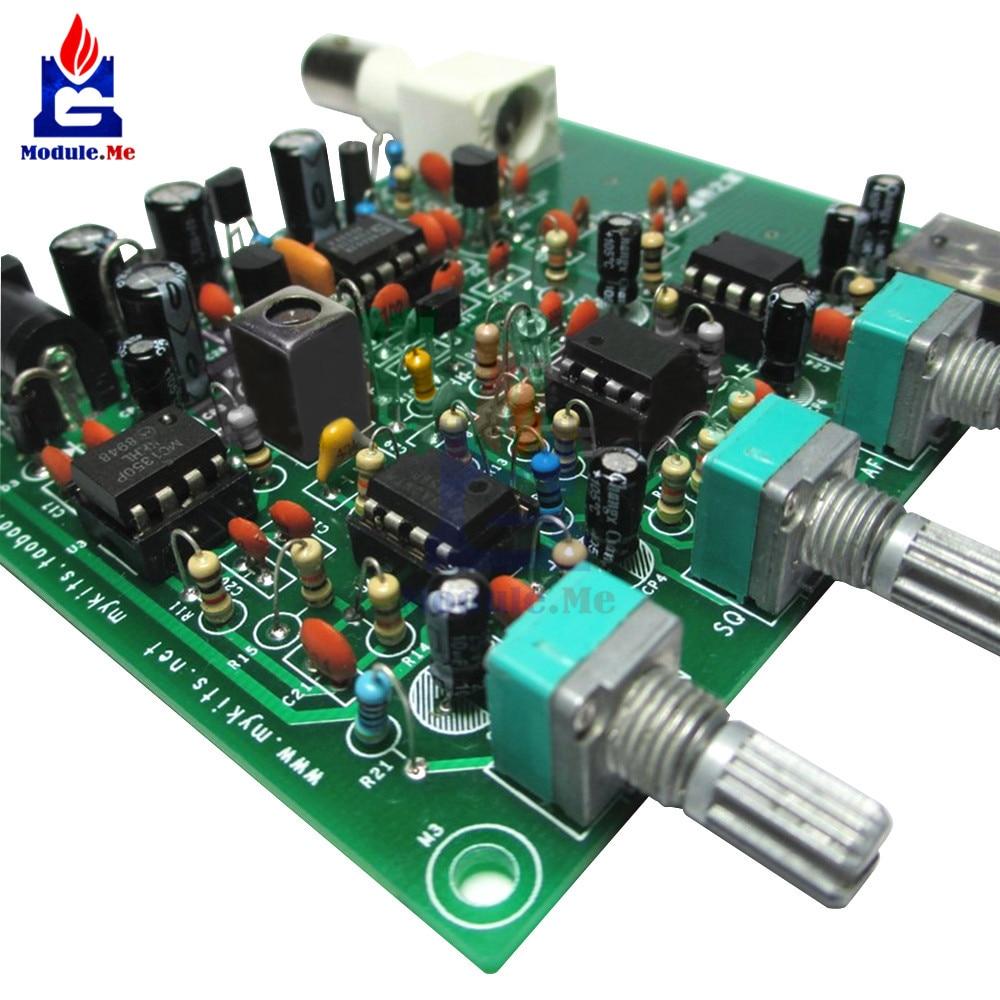 DIY Kits Air band Airband Radio Receiver Aviation Band Receiver Filter  Module Diy Kit Electronic PCB Board band-pass filter
