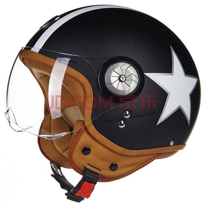 Free shipping, Motorcycle Vintage helmet Motorbike motorcross Jet Casco Capacete open face 3/4 half helmet MOMO helmet BEON B110