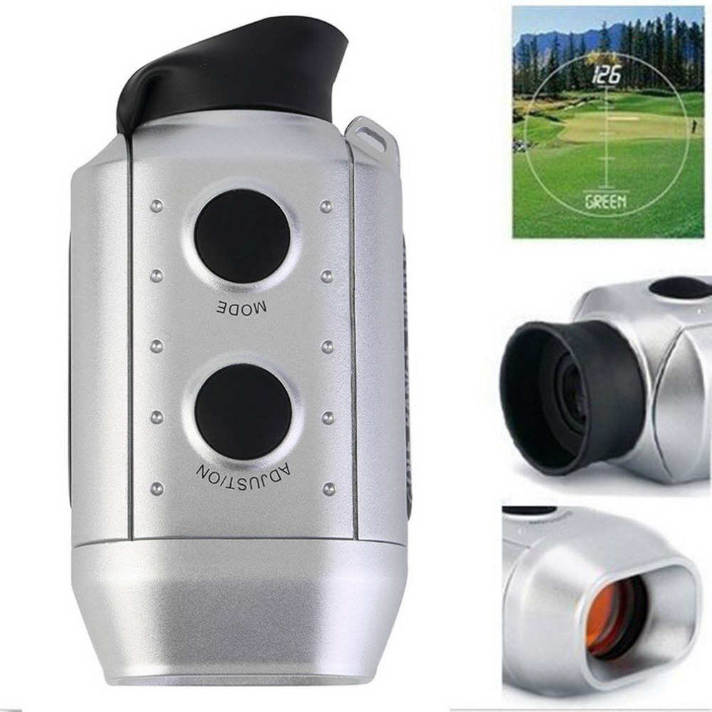 7X Digital Golf Range Finder Portatile Golfcope Distanziometro Leggero Caccia Ambito Telemetro Golf Distanza Range Finder Nuovo