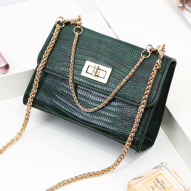 Alligator Crocodile Leather Mini Small Crossbody Bag Women Shoulder Bags Chain HandBags Messenger Bags Ladies TYF182 2015 women cute bow candy color handbags ladies messenger shoulder crossbody bags mini small quilted chain bags bolsas ba048