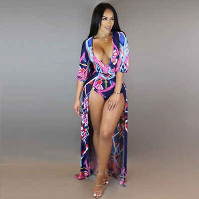 2dc45b00f5d43 Detail Feedback Questions about Hot 2017 Beach Dress Beach Sarongs Sexy Cover  Up Chiffon Bikini Swimwear Tunic Swimsuit print Bathing Suit Cover Ups  Pareo ...