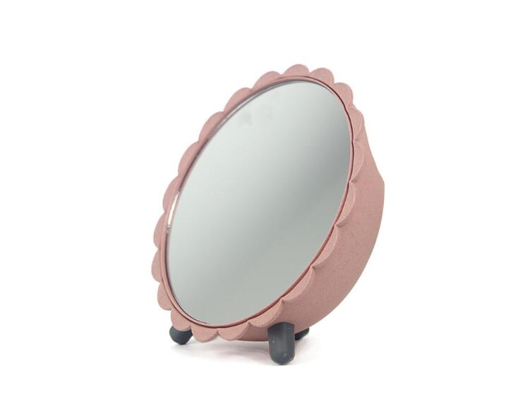 RB41-Round makeup mirror dressing mirror Princess mirror plastic mirror desktop makeup mirror desktop dormitory storage mirrorRB41-Round makeup mirror dressing mirror Princess mirror plastic mirror desktop makeup mirror desktop dormitory storage mirror
