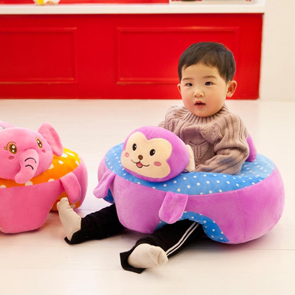 Baby Zitten Stoel.Kleurrijke Baby Baby Seat Leren Zitten Seat Stoel Draagbare Voeden