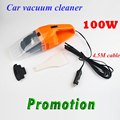 Promotion!!! 100W 12V Car Vacuum Cleaner Super Suction Vaccum Cleaner For Car