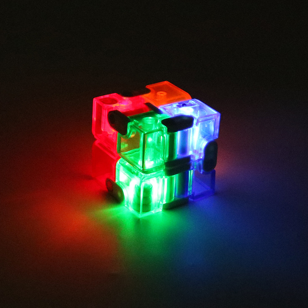 Home The Best Led Infinity Cube For Stress Relief Fidget Anti Anxiety Stress Funny Edc Toys Ar Toy Dropship Y731