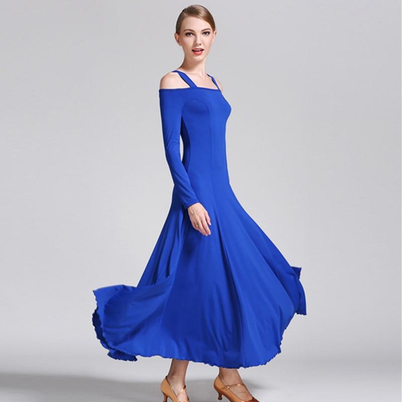 de dança de salão vestido de valsa