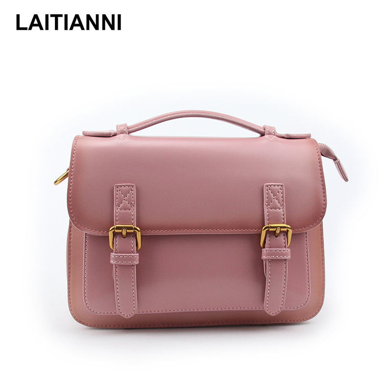 Women' s Bao Bao Natural Leather Messenger Bags Ladies Buckle Strap Fashion Handbags Female Cross Body Bags open secret