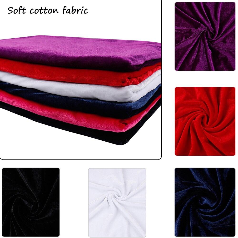 velour Lovely! 38 Bellissimo velvet Black curtain fabric//material No