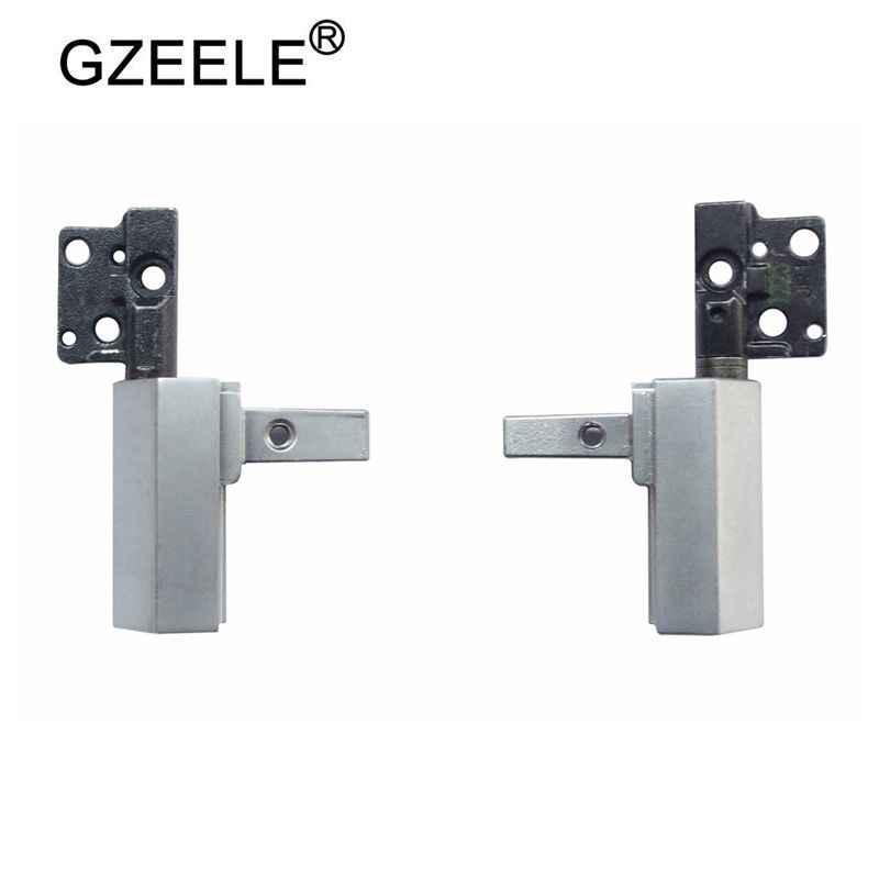 """Gzeele 新液晶ヒンジのために dell の緯度 E6410 E6400 ラップトップヒンジセット左右ヒンジ H61GF 14.1 """"lcd スクリーン左 & 右"""